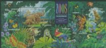AUS SGMS1484 Australian Zoos, Endangered Species miniature sheet